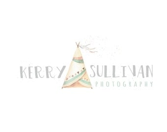 Logo Design Branding, Photography Logo, Small Business Logo, Custom Logo, Logo Design Package, Affordable Logo, Teepee Logo, Logo Branding
