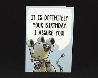 Codsworth Birthday Wishes - A6 Birthday Card