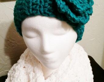 Ear Warmer Headband - Turquoise