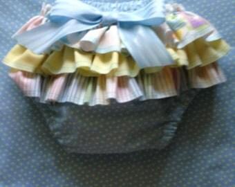 Fancy Ruffled Diaper Cover
