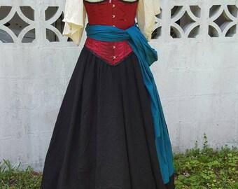 Women's Gauze Blouse - Pirate, Renaissance, Fantasy, Steampunk, Medieval, Faire, Wench, Princess, Fantasy, LARP, Cosplay