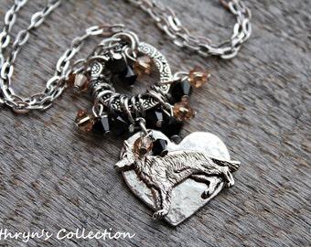 German Shepherd Necklace, German Shepherd Jewelry