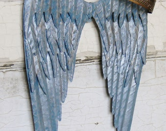 Angel Wing Wall Decor,Angel Wings,Metal Angel Wings,Nursery Wall Decor,Children's Wall Decor,Guardian Angel,Baby Shower Gift,Angel Wings