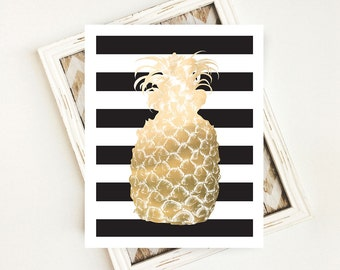 Summer Party Decorations, Summer Home Decor, Summer Printable, Summer Decor, Summer Gift, Summer Sign, Pineapple PRINTABLE, Digital Download