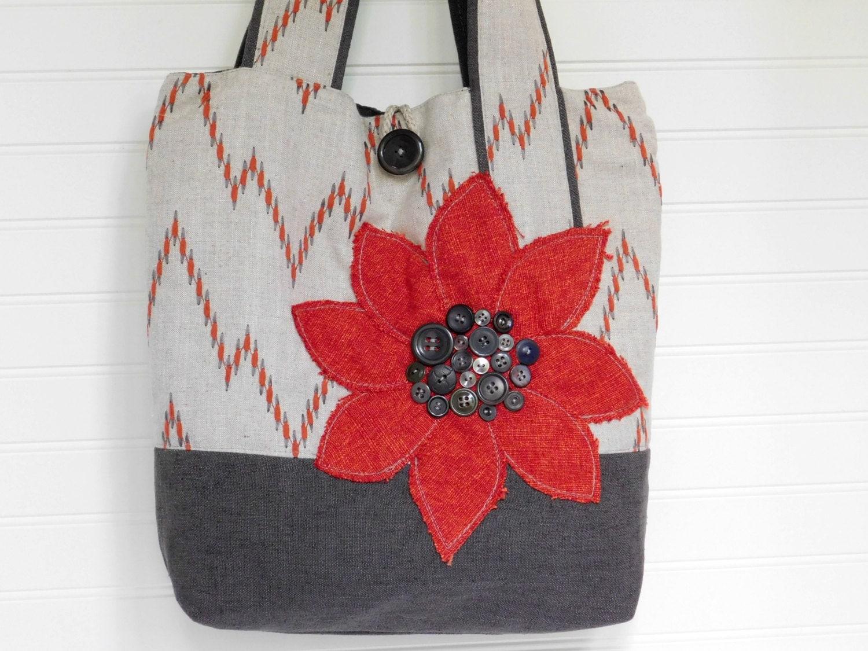 Fabric Tote Bag for Work Cloth Handbag Work Bag for Women