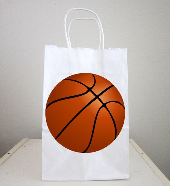 Basketball Goody Bags Basketball Favor Bags Basketball Gift