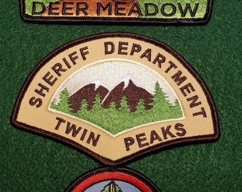 Twin Peaks Patch Bundle
