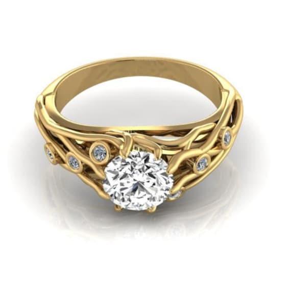 Bohemian engagement rings