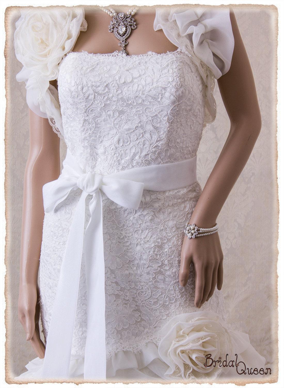 2 OFF WHITE Velvet Bridal Sash Off White Wedding