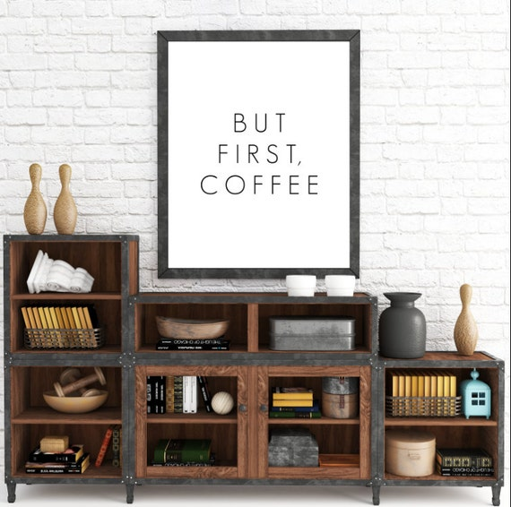 But First Coffee, Instant Download Printable, Coffee, Typography, Printable, But First, Coffee Print, Coffee Typography, Coffee Art Print