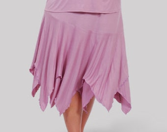 Plus Size Skirt for Women, Bobo Clothing | Handkerchief Style Skirt, Festival Clothes | 10% Spandex | Plus 1x 2x 3x 4x