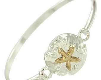 Treasure in the Sand Bracelet - Gold Star