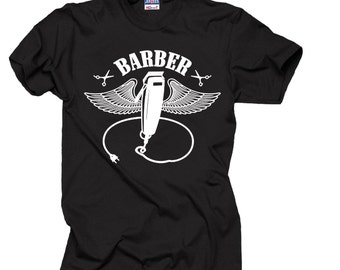 Gift For Barber T-Shirt Funny Barber Shop T-Shirt Tee