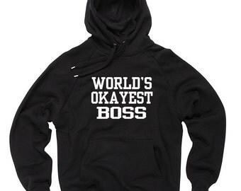 Boss Hoodie Gift For Boss Hooded Sweatshirt Sweater
