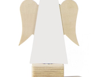 Tree Top Angel – White