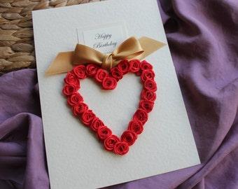 50th Anniversary Card Golden Anniversary Wife Husband Parents Mum Dad Anniversary Handmade Card  Personalised Gold Anniversary Gift