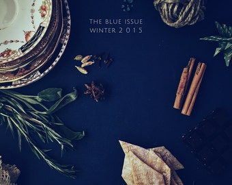 The Gourmet Mag - the blue issue - winter 2016