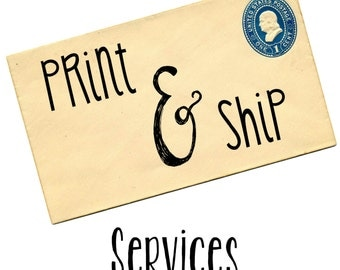 Print and Ship Services for My Prints