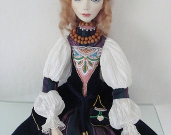 "Artist Doll ""Emma"", by Elena Fesler"