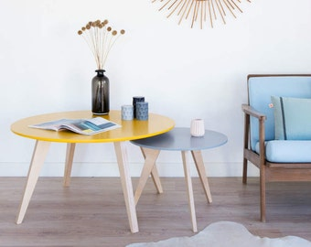Table de chevet scandinave et vintage table de par for Table de nuit scandinave