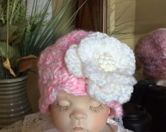 Shells & Pearls Baby Hat!