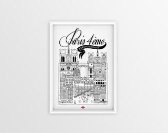 Paris 4th Arrondissement A4