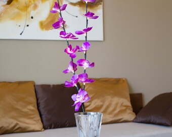 LED Purple Orchid Branch B-8008