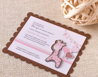 safari baby shower | etsy, Einladung