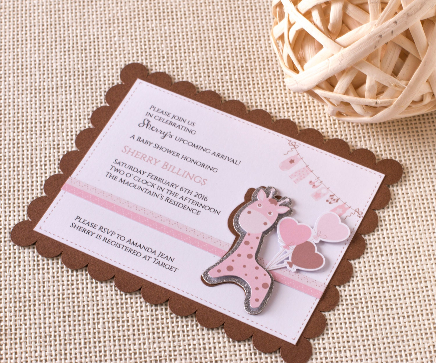 invitations baby girl shower invitations zoo party animal party 3d