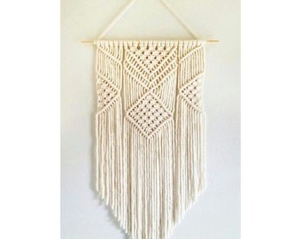Handmade Macrame Wall Hanging