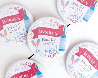 Personalised Celebration Hen Party Mirror - Hen Party Gift - Hen Party Favours - Hen Party Mirror - Hen Party Bag - Hen Do Bag - Hen Do Gift