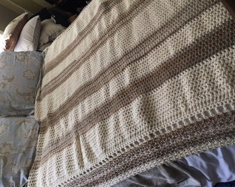 Champagne and Cream Blanket