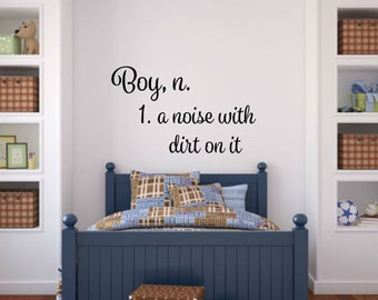 Baby Boy Wall Decal Etsy - Baby boy nursery wall decals