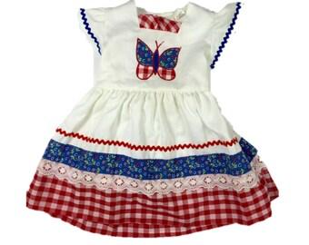 Vintage Toddler Girl Dress