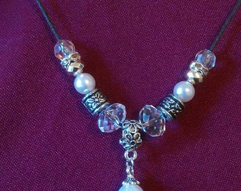 Bead  Charm Necklace