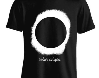 Solar Eclipse Galaxy Outer Space Moon Sun Ring T-Shirt For Women Teen Girls Fitness Adult Apparel Great Gift Idea Comes in Assorted Colors