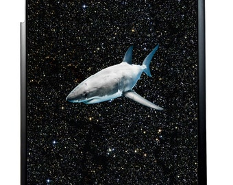 Shark in Space For iPad 2/3/4, iPad Mini 1/2 and iPad Air