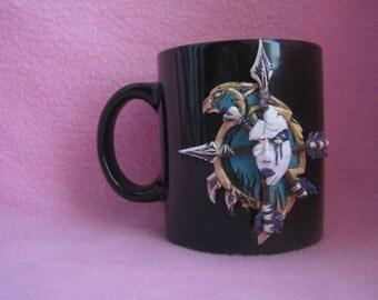 VOLUMETRIC / Mug / pinta / cup / Forsaken / WoW / Warcraft / World of warcraft / Sylvanas / Undersity