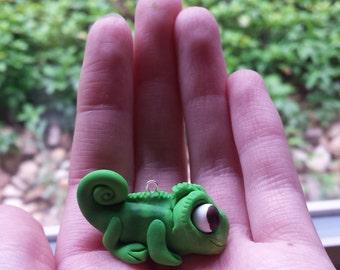 Pascal Tangled chameleon charm Rapunzel