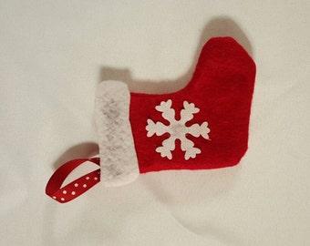 Doll Christmas Stocking, Christmas Decoration, Holiday Decor, Doll Decorations, Doll Stocking, Pretend Play