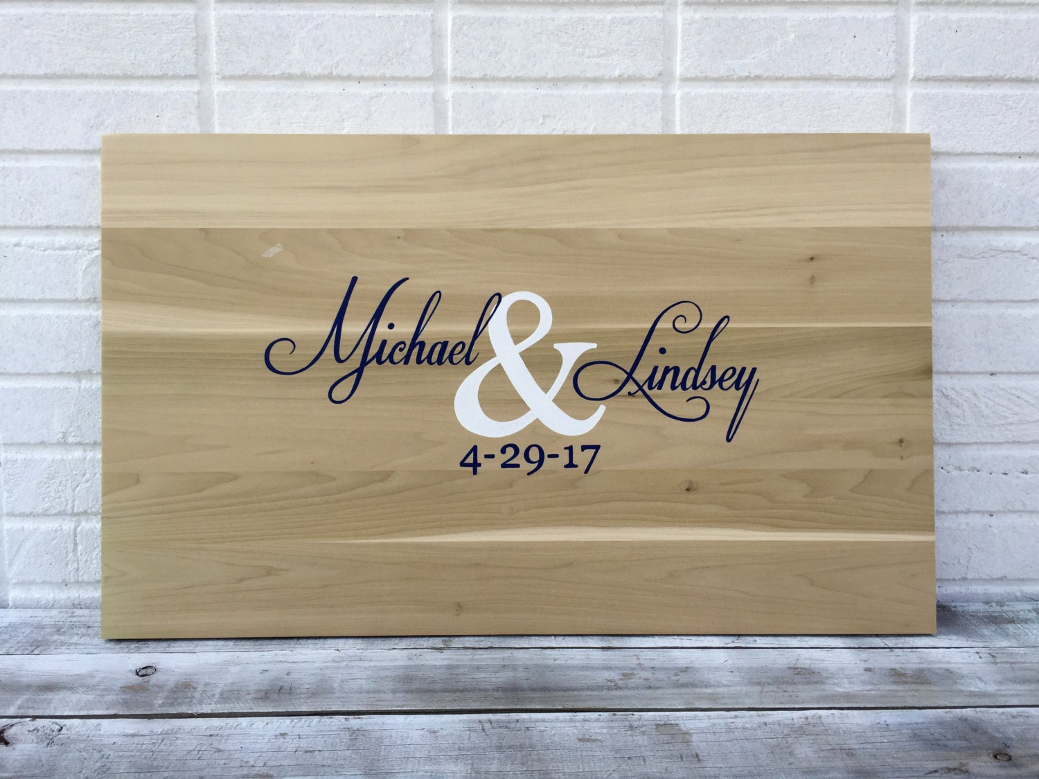 Sale!!! Wedding Guestbook board with Pen. Wood Guest book Idea ...