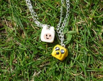 Adventure time friendship necklaces
