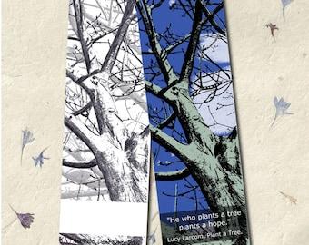 Printable Art Bookmark - Tree Bookmark - PDF Download - Digital Bookmark - Instant Download