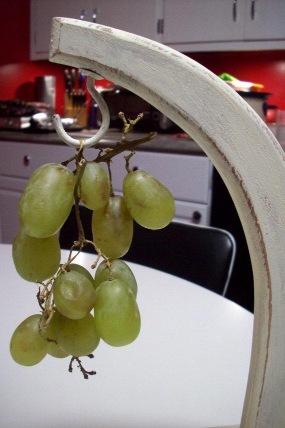 Wood Banana Holder Cream Banana Hook By Upcycledcottagedecor