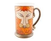 Leo zodiac mug, horoscope mug, stoneware teacup ,Birthday gift, Astrology Mug, Horoscope, zodiac gift,ceramic zodiac mugs, astrology teacup,