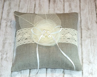 Ring pillow Wedding Ring Pillow Ring Bearer Pillows