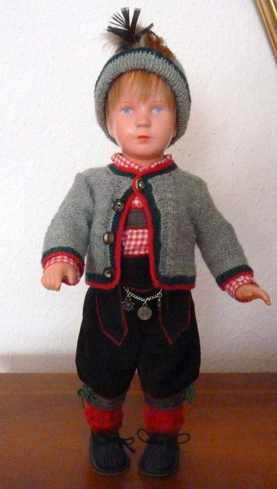 Vintage / / original / / Käthe Kruse Doll / / by Schildkröt / /