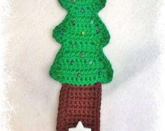 Hand Crochet Christmas Tree Cup Cozy