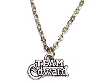 Twilight Necklace, Twilight Charm, Twilight Pendant, Twilight Jewelry, Twilight Saga, Twilight Saga Jewelry, Twilight Movie, Twilight Bella