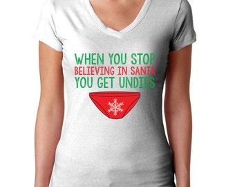 Girl Christmas Shirt Holiday Shirt Merry Christmas Gift Christmas Outfit Santa Shirt Christmas Top Funny Christmas Ugly Christmas Tee
